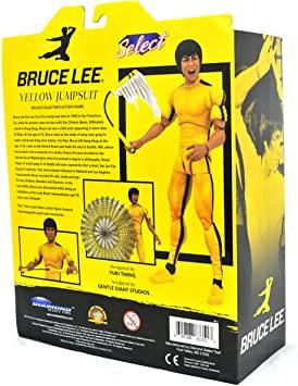 Acticon Figure Bruce Lee Yellow Jump Suit - Diamond Select