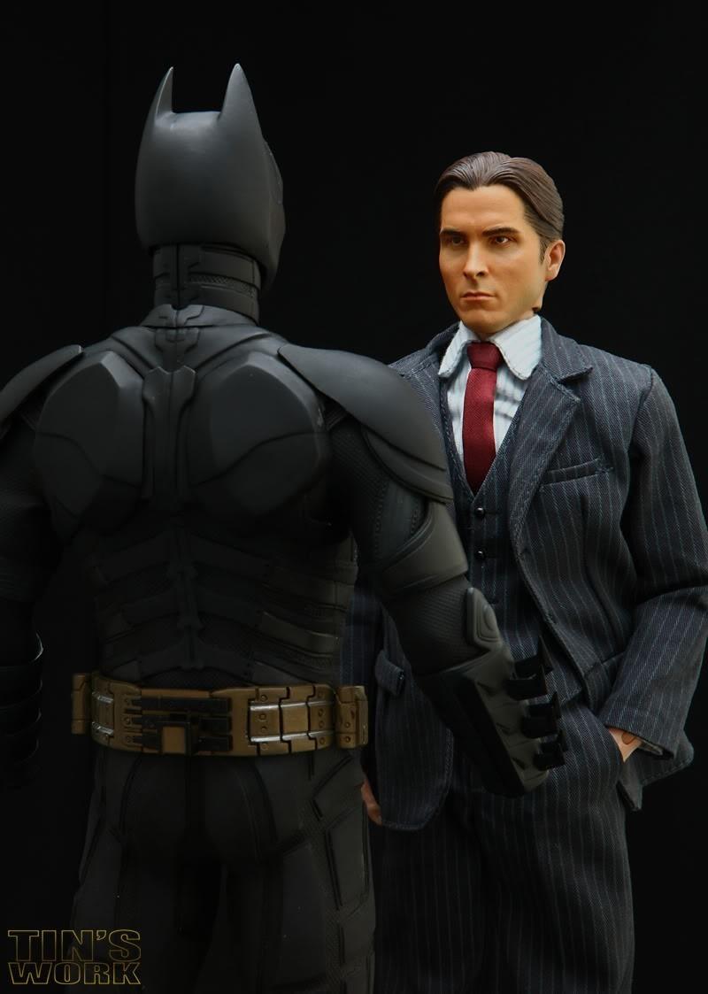 Boneco Bruce Wayne: Batman: O Cavaleiro das Trevas - Medicom Toy ( Escala 1/6 )