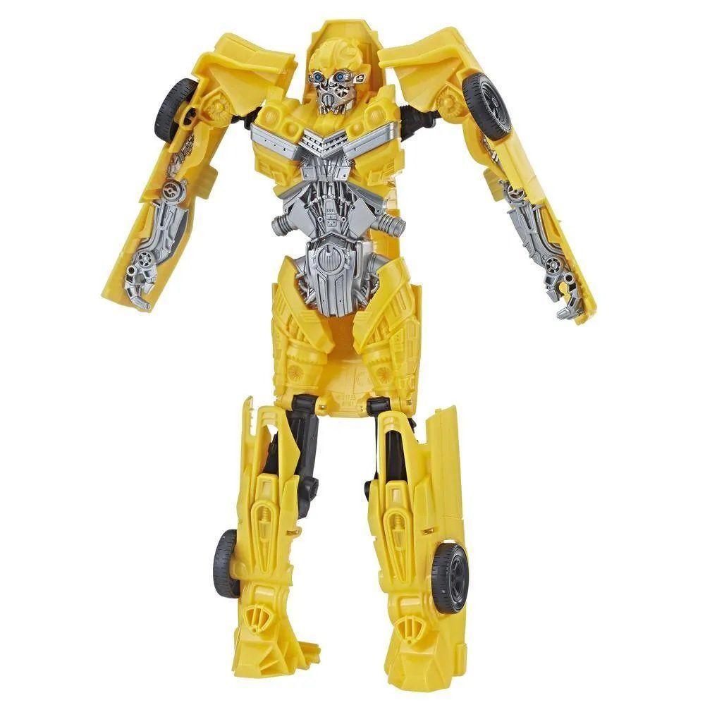 Boneco Bumblebee (Titan Changers): Transformers (Bumblebee) - Hasbro