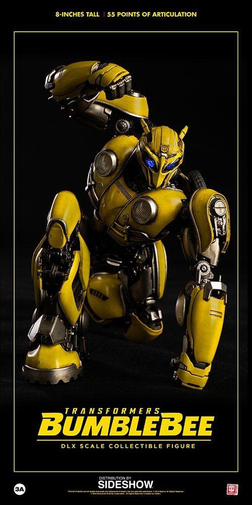 Action Figure Bumblebee: Transformers (Bumblebee) DLX Scale - Boneco Colecionável - ThreeA (Apenas Venda Online)
