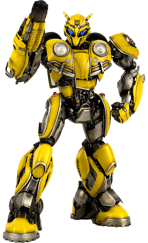 Boneco Bumblebee: Transformers (Bumblebee) DLX Scale - ThreeA (Apenas Venda Online)