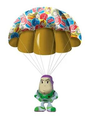 Boneco Buzz Lightyear com Paraquedas: Toy Story - Candide