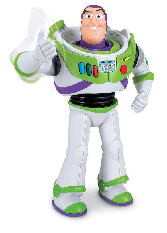 Boneco Buzz Lightyear (Golpe Karatê): Toy Story - Toyng