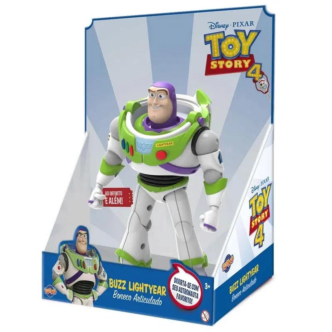 Boneco Buzz Lightyear: Toy Story - Toyng