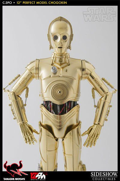 Boneco C-3PO: Star Wars (Escala 1/6) - Tamashii Nations - CG