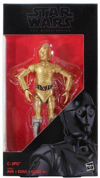 Boneco C-3PO: Star Wars (The Black Series) - Hasbro