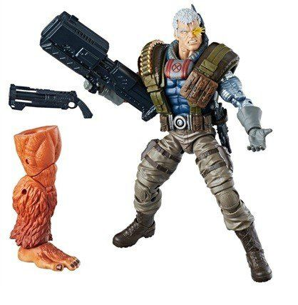 Boneco Cable ( BuildAFigure ): Marvel Legends Series - Hasbro