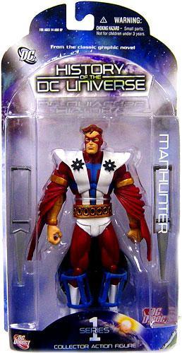 Boneco Caçador (Manhunter): History of the DC Universe Series 1 - DC Direct