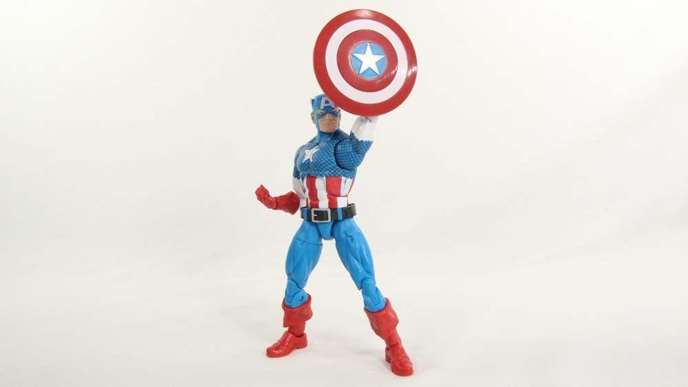 Boneco Capitão América (Captain America): Marvel Legends Vintage - Hasbro