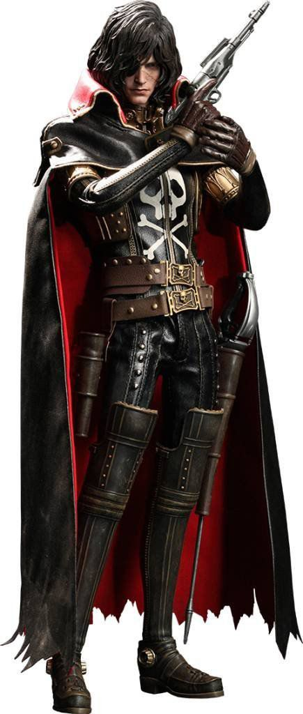 Boneco Capitão Harlock: Pirata do Espaço Movie Masterpiece Escala 1/6 - Hot Toys - CD