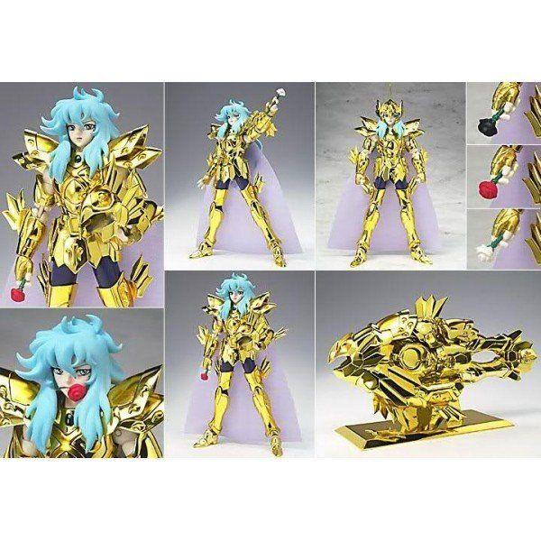 Boneco Cavaleiros do Zodíaco - Cav. de Ouro - Afrodite de Peixe