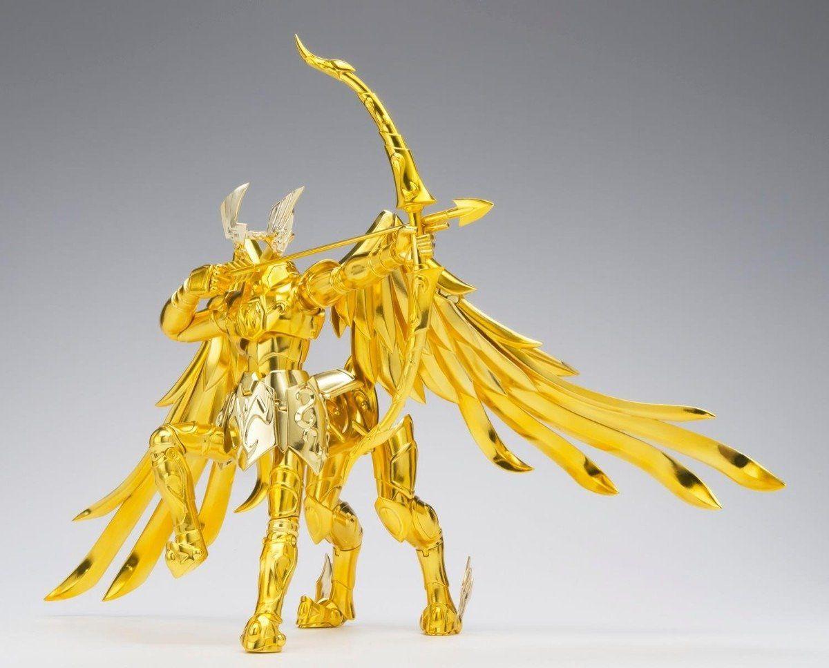 Boneco Cavaleiros do Zodíaco - Cav. de Ouro - Aiolos de Sagitario