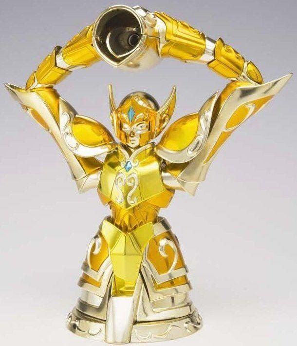 Boneco Cavaleiros do Zodíaco - Cav. de Ouro - Camus de Aquario