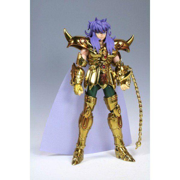 Boneco Cavaleiros do Zodíaco - Cav. de Ouro - Milo de Escorpião