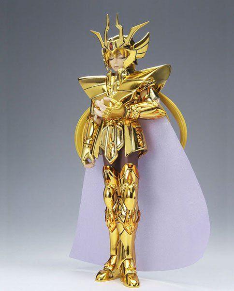 Boneco Cavaleiros do Zodíaco - Cav. de Ouro - Shaka de Virgem