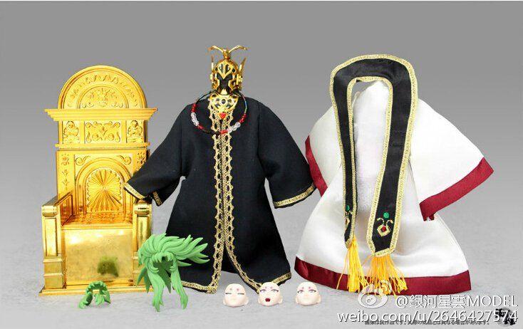Boneco Cavaleiros do Zodíaco - Cav. de Ouro - Shion  Mestre do Santuario
