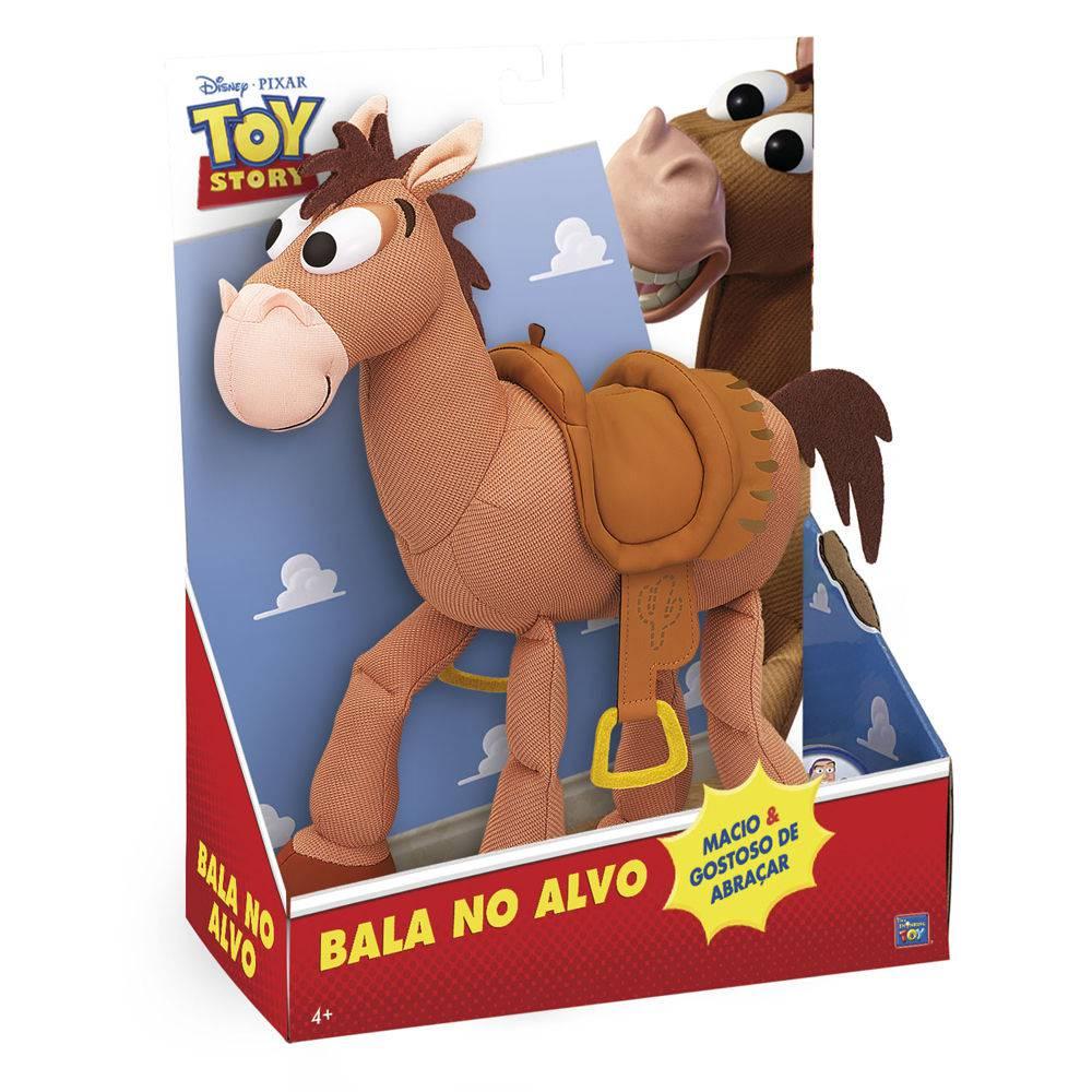 Boneco Cavalo Bala No Alvo: Toy Story - Toyng