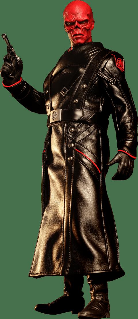 Boneco Caveira Vermelha (Red Skull): Capitão América O Primeiro Vingador (The First Avenger) Escala 1/6 (MMS167) - Hot Toys - CG