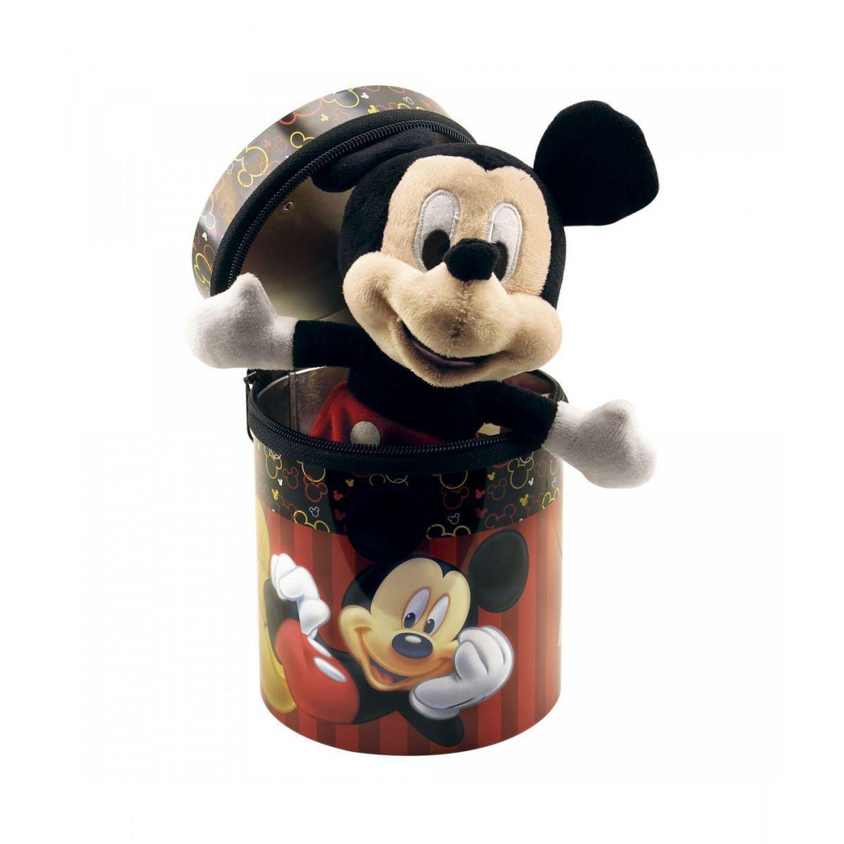 Chaveiro Boneco Mickey Mouse na Lata - Disney