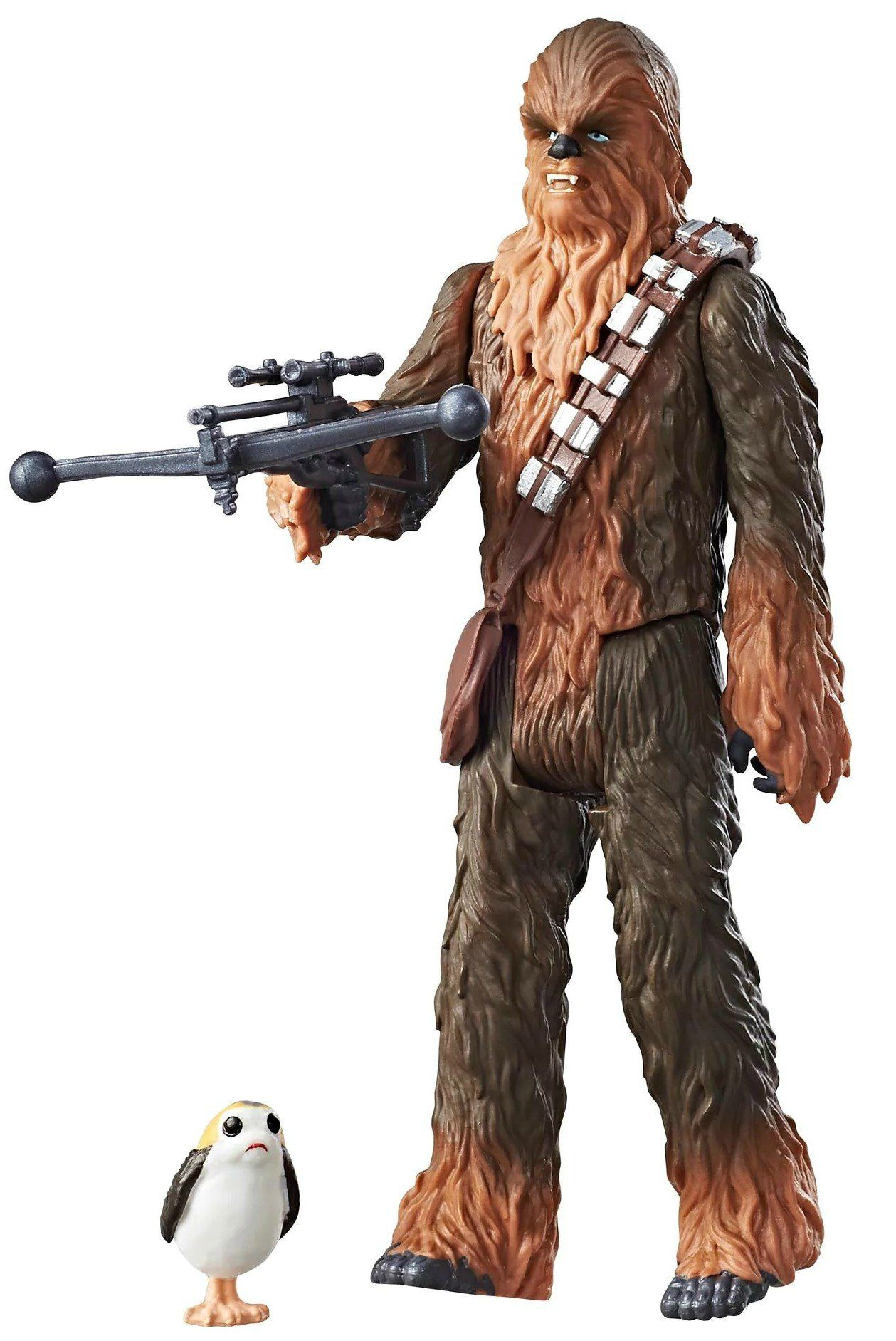 Boneco Chewbacca (Force Link): Star Wars The Last Jedi (Os Últimos Jedi) - Hasbro