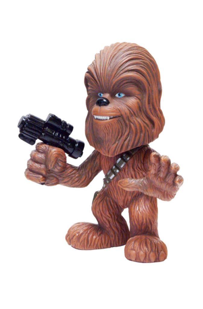 Funko Boneco Chewbacca (Ultra-Stylized Bobble-Head): Star Wars - Funko - CG