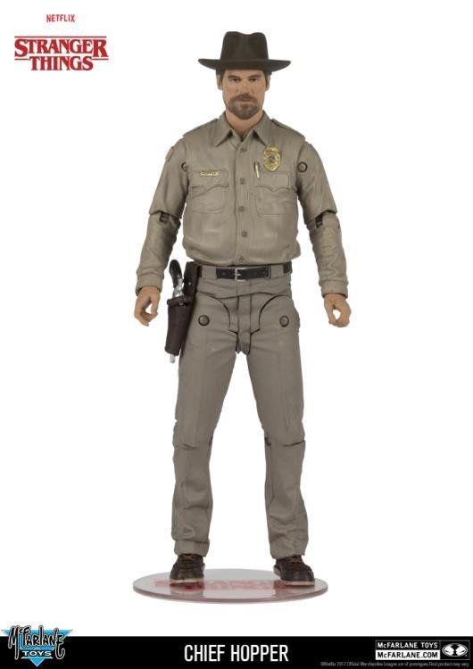 Boneco Chief Hopper: Stranger Things - McFarlane