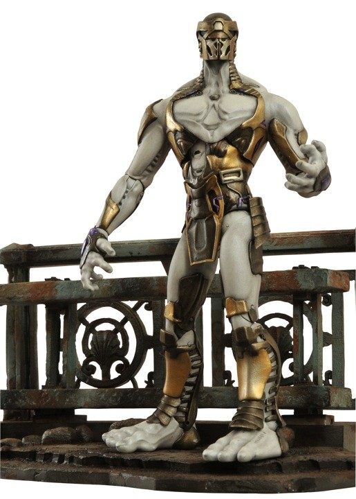 Boneco Chitauri Footsoldier Os Vingadores (The Avengers): Marvel Select - Diamond Select