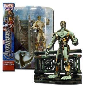 Boneco Chitauri Footsoldier Os Vingadores (The Avengers): Marvel Select - Diamond Select