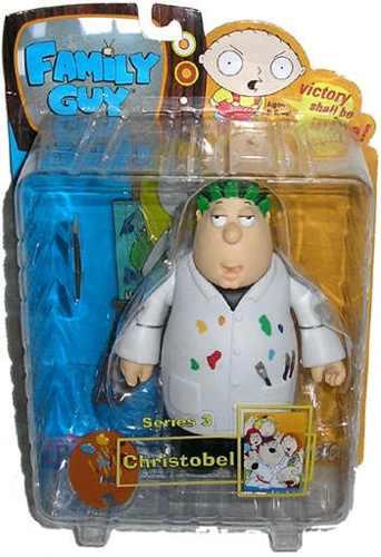 Boneco Christobel: Uma Família da Pesada (Family Guy) - Mezco