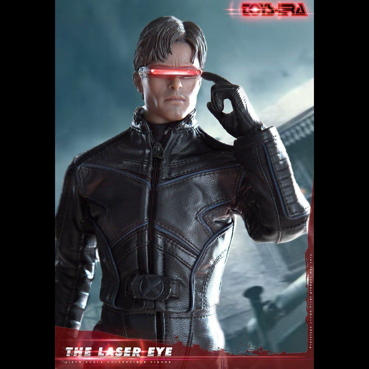 Boneco Ciclope (Cyclops): X-Men The Laser Eye Escala 1/6 - Toys Era