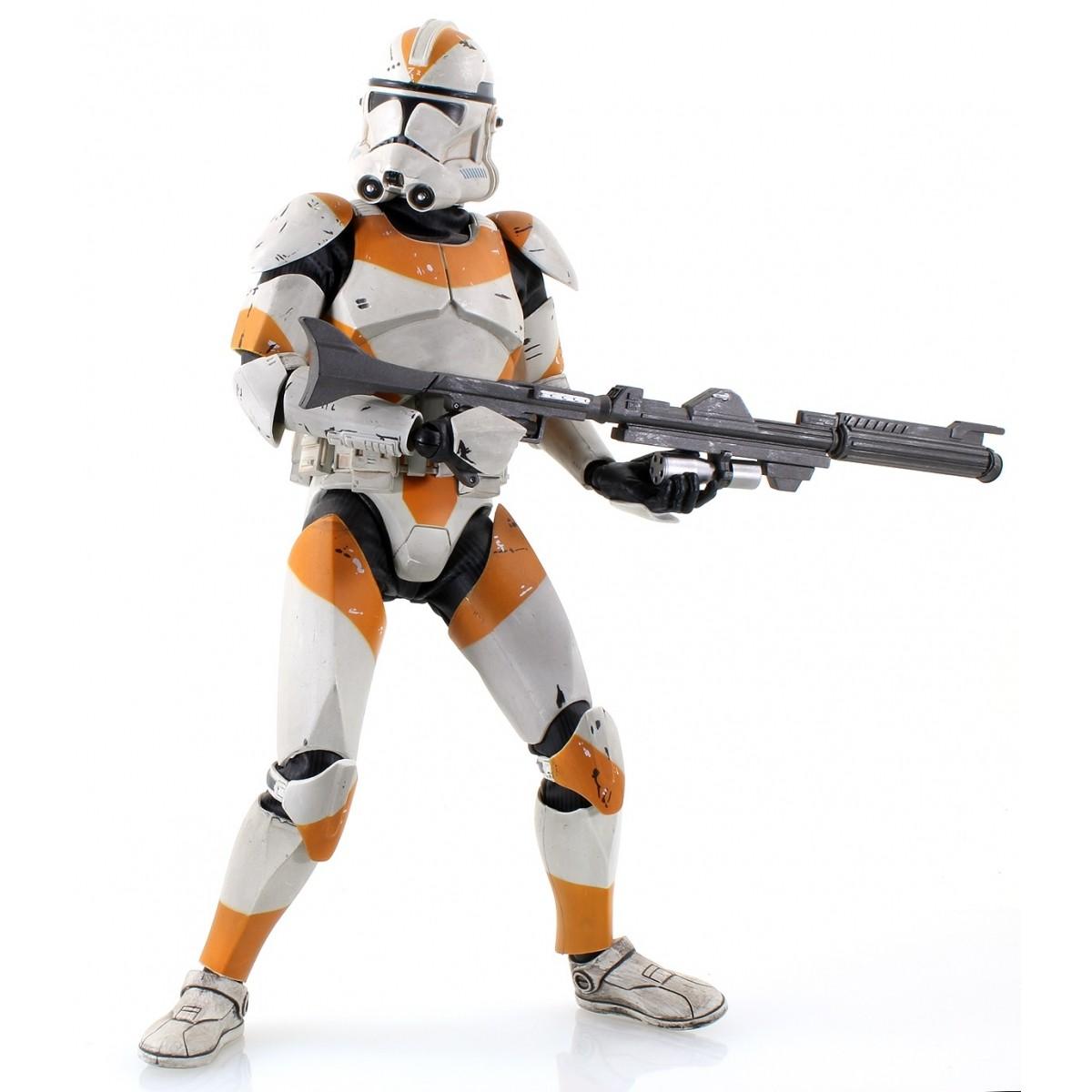 Boneco Clone Trooper: Star Wars Attack Battalion: Utapau Escala 1/6 - Sideshow - CG (SEM CAIXA)