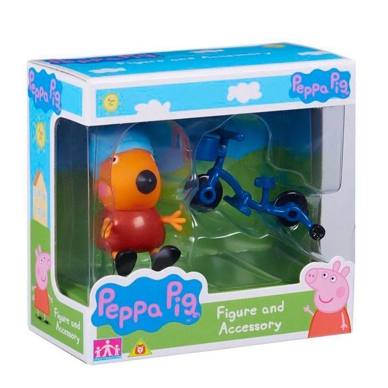 Boneco com Acessório Freddy o Raposo: Peppa Pig - DTC