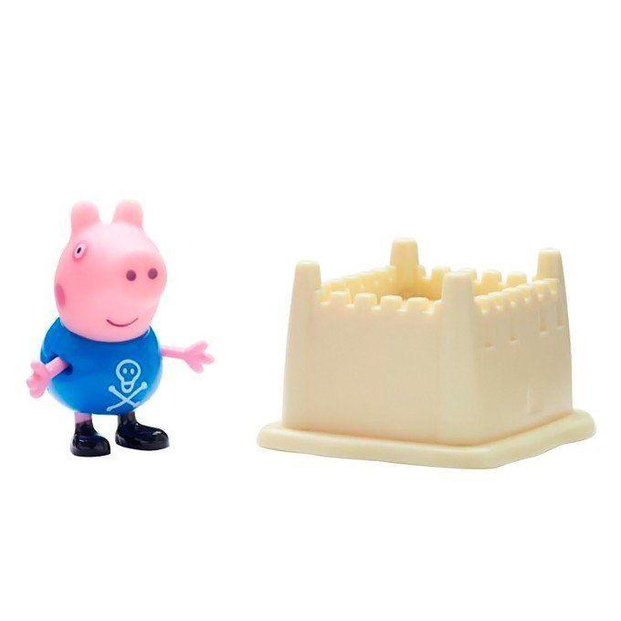 Boneco com Acessório George: Peppa Pig - DTC
