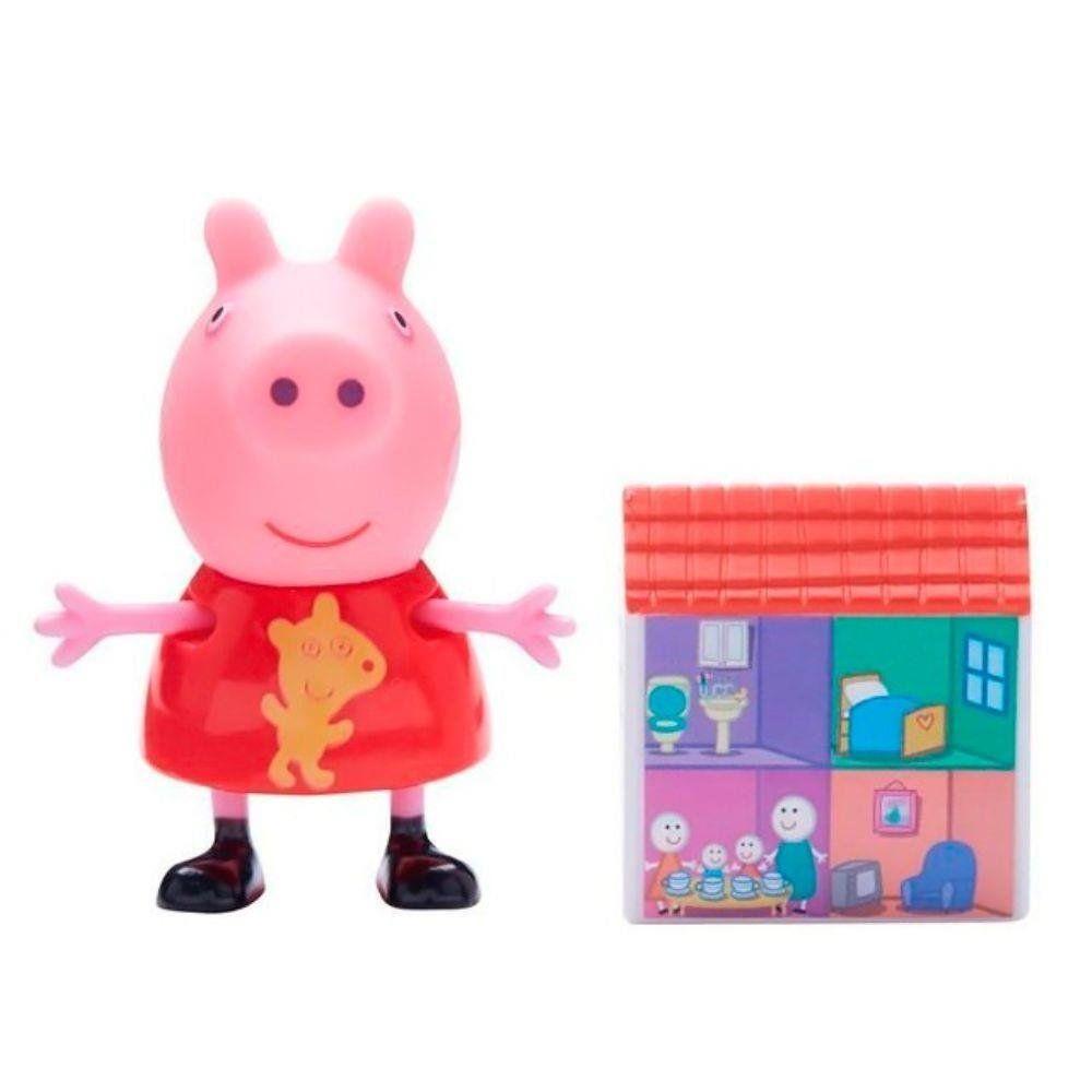Boneco com Acessório Peppa: Peppa Pig - DTC