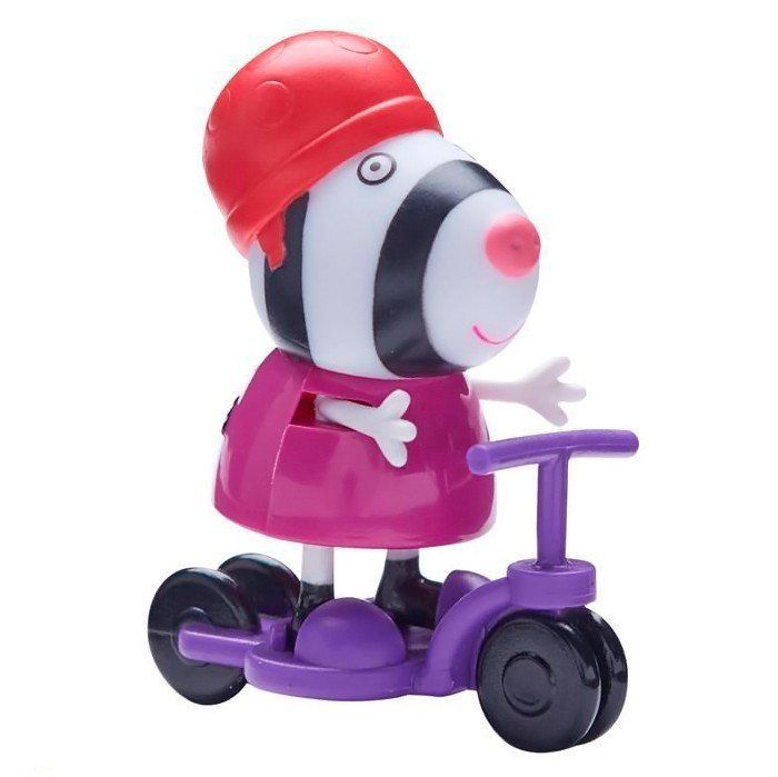 Boneco com Acessório Zoe a Zebra: Peppa Pig - DTC