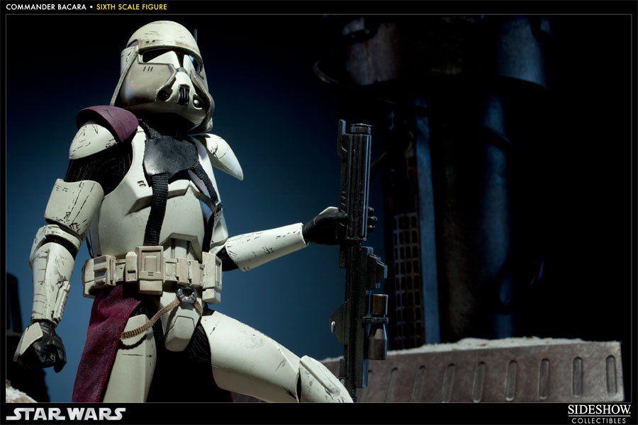 Action Figure Commander Bacara: Militaries of Star Wars Nova Corps (Limited Edition) Escala 1/6 - Sideshow