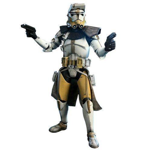 Boneco Commander Bly: Militaries of Star Wars Star Corps Limited Edition Escala 1/6 - Sideshow
