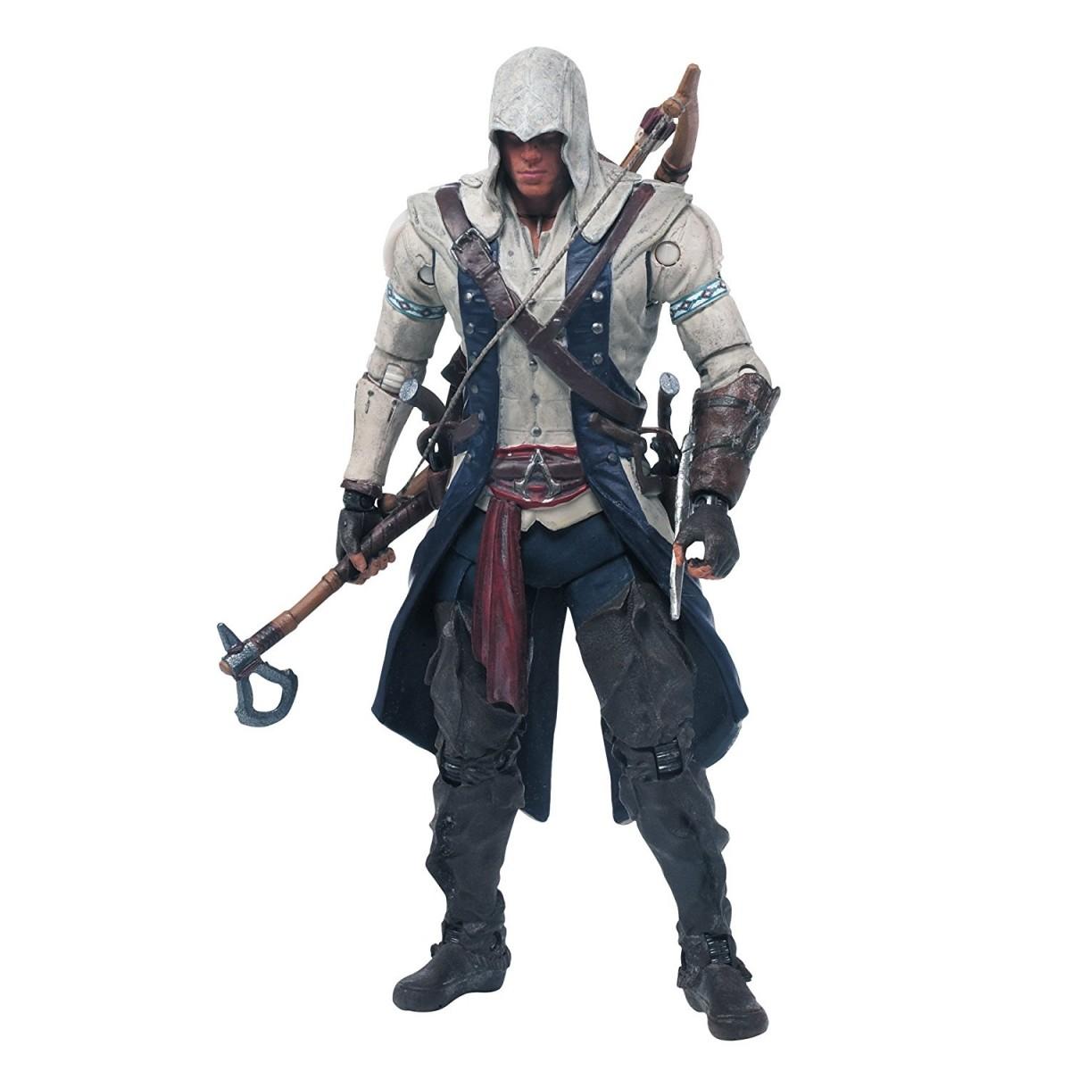 Boneco Connor: Assassin's Creed - McFarlane