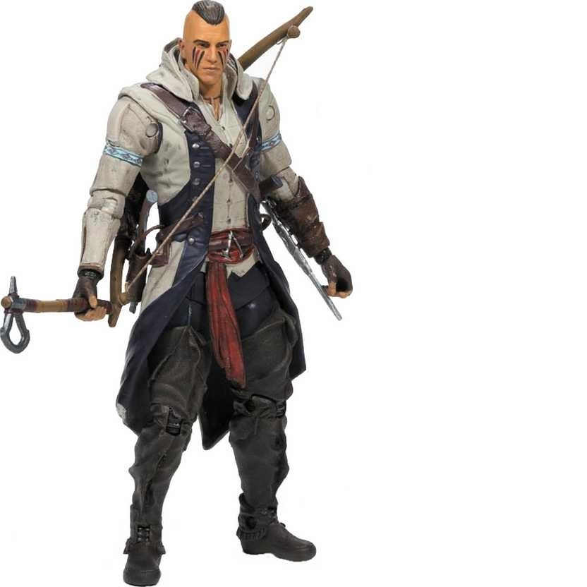 Boneco Connor (With Mohawk): Assassin's Creed - McFarlane