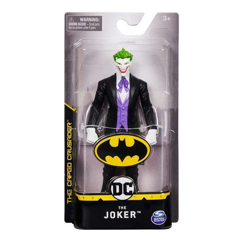Boneco: Coringa Terno Preto (Joker): Batman - DC Comics - Sunny