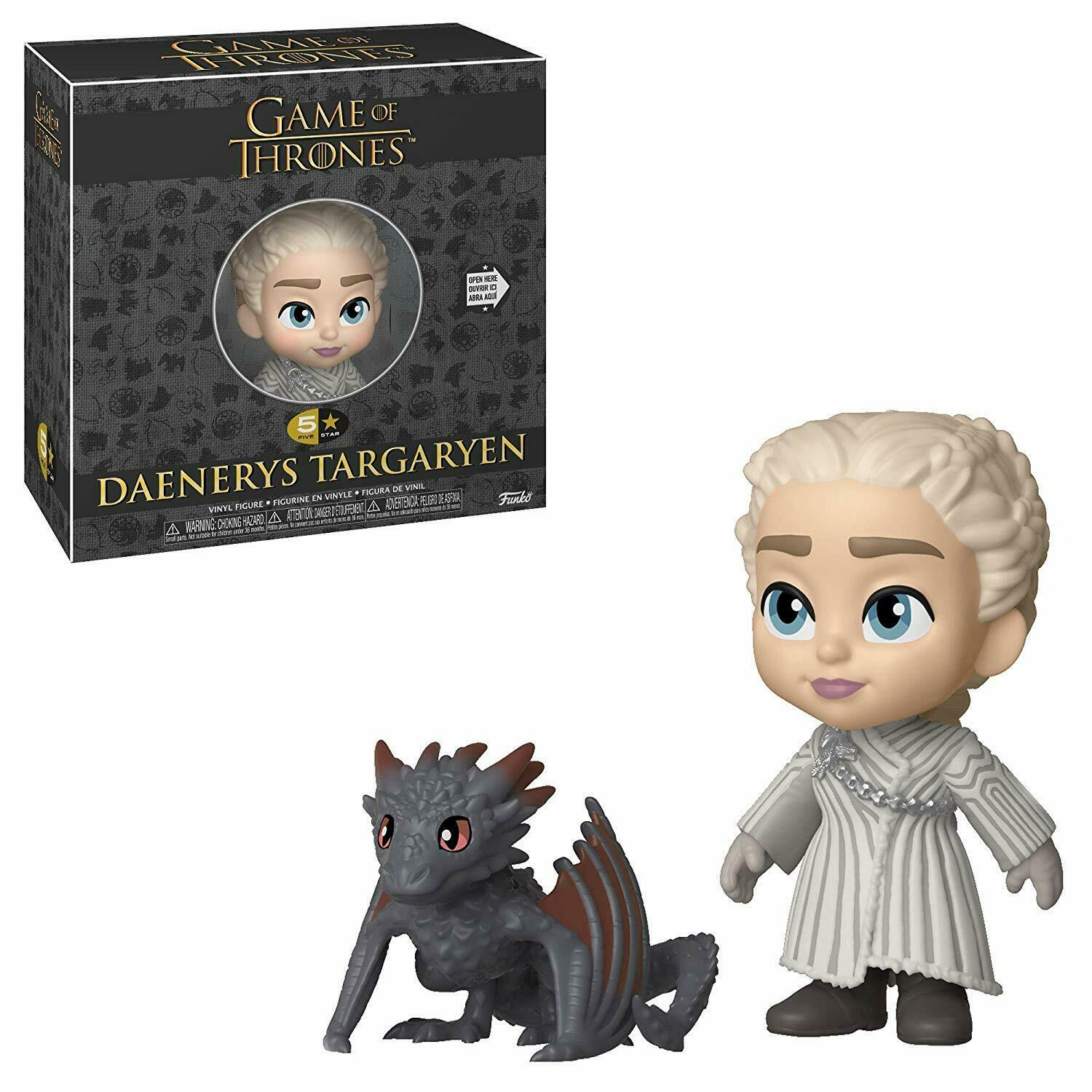 Funko Boneco Daenerys Targaryen: Game of Thrones (5 Star) - Funko