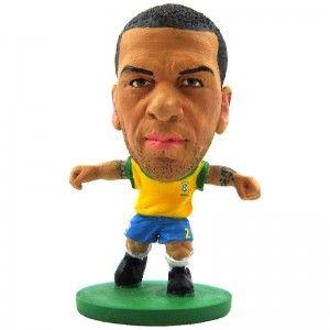 Boneco Dani Alves: Mini Craques Brasil (Copa do Mundo) - DTC