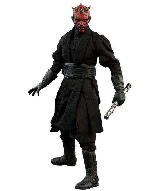 Action Figure Darth Maul: Star Wars A Ameaça Fantasma (The Phantom Menace) Escala 1/6 - Sideshow