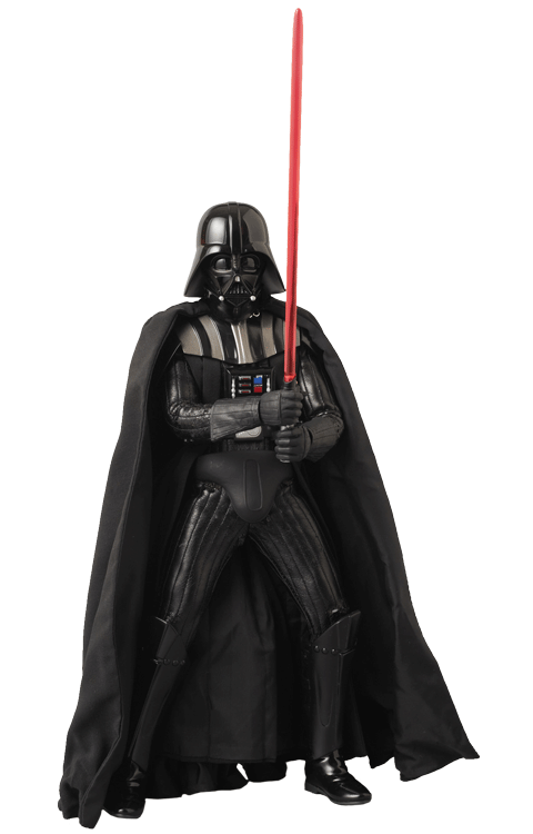 Action Figure Darth Vader (Versão 2.0): Star Wars RAH (Real Action Hero) Boneco Colecionável - Medicom
