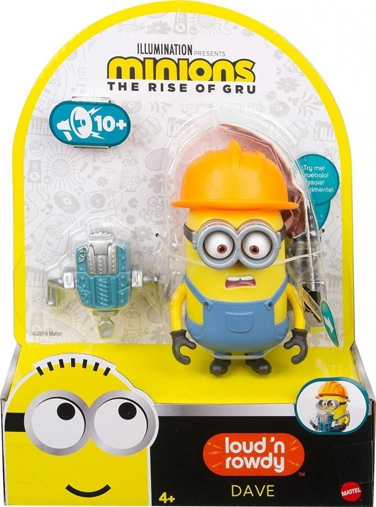 Boneco Dave: Minions (Barulhento e Bagunceiro) - Mattel