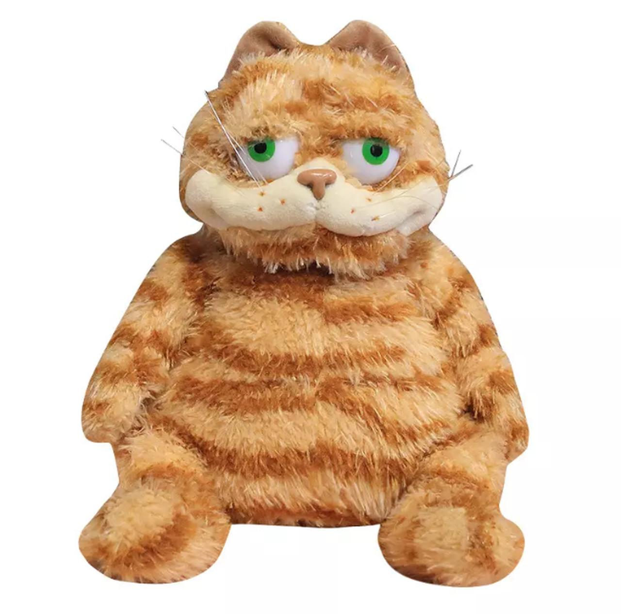 Boneco de Pelúcia Crazy Garfield (30cm)  - EVALI