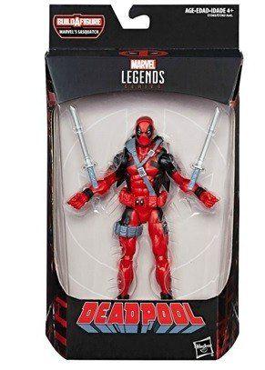 Boneco Deadpool ( BuildAFigure ) Marvel Legends Series - Hasbro