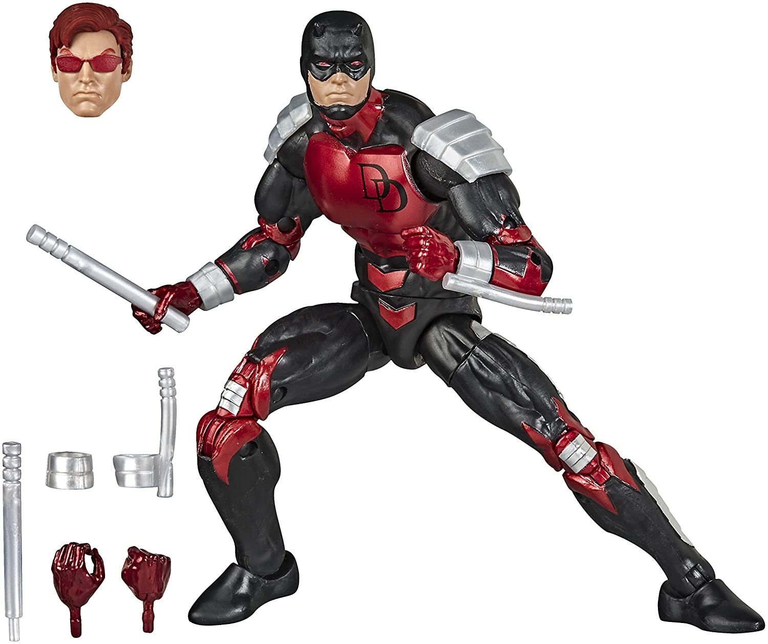Action Figure Demolidor (Daredevil): Homem Aranha (Spider-Man) (Legends Vintage) - Hasbro