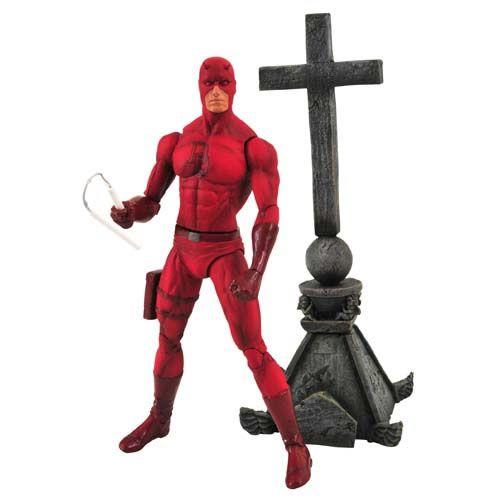 Action Figure Demolidor (Daredevil) Marvel Select - Boneco Colecionável - Diamond Select
