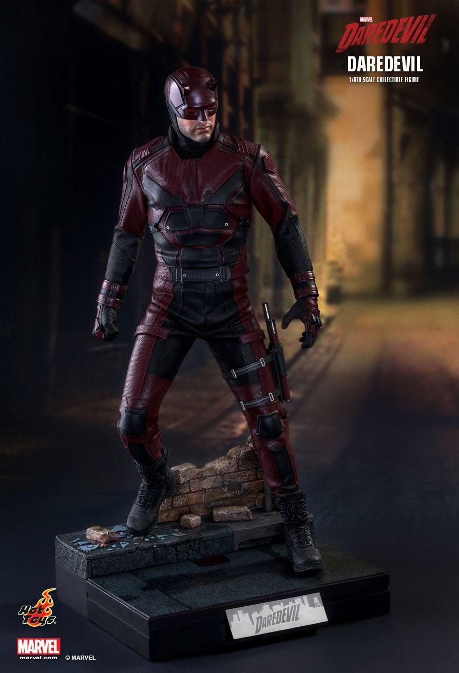 Action Figure Demolidor (Daredevil): Demolidor (Daredevil Netflix) Boneco Colecionável (TMS003) Escala 1/6 - Hot Toys